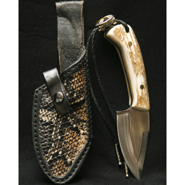 Grizzly Knife by Todd Juchau (Available for Shipping or Local Pick-Up)