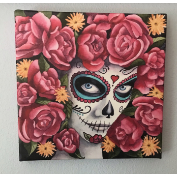 """Mujer Hermosa""  Canvas Print by Diane Tharp (Available for Shipping or Local Pick-Up)"