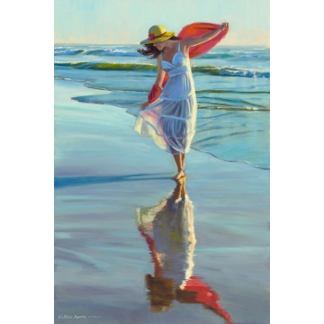 Freedom Reflection Limited Giclee Print on Canvas by Victoria Brooks (local pick-up only)