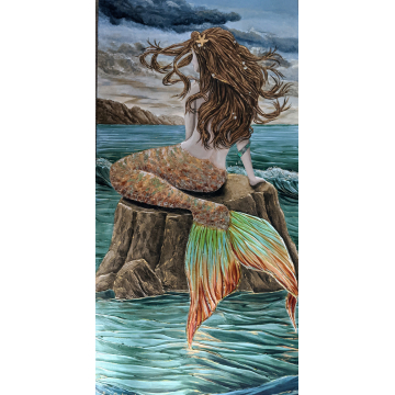 Koral - Embellished Giclee by Don Antram (Available for Shipping or Local Pick-Up)