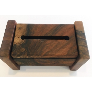 Tibetan-Style Incense Box With Graft-Line by Jane Markham (Available for Shipping or Local Pick-Up)