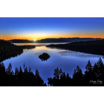 """Original Image on Metal """"First Light"""" by Doug Parks (Local Pick-Up Only)"""