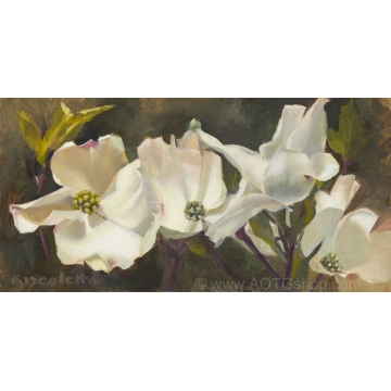 """Dogwood"" Giclée Print by Sylviane Giacoletto (local pick-up only)"